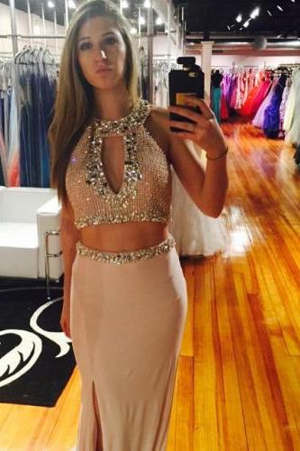 Two Pieces Prom Dresses 2016